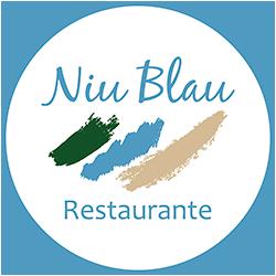 Restaurante en la playa en Ibiza. Restaurante Niu Blau Ibiza.
